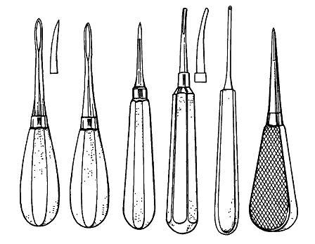 Элеватор для удаления зубов